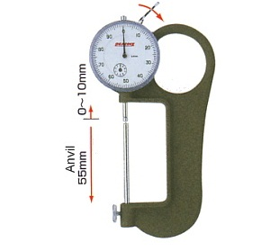 Đồng hồ đo độ dày 65mm G-4 PEACOCK