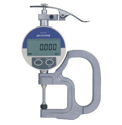 Đồng hồ đo độ dày điện tử 20mm G2-257 PEACOCK