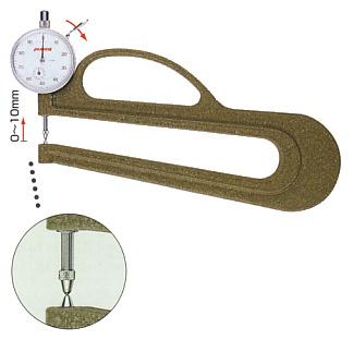 Đồng hồ đo độ dày cơ 10mm H-2 PEACOCK