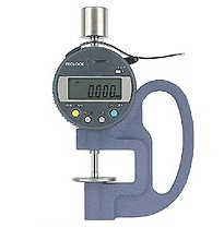 Đồng hồ đo độ dày điện tử có dải đo 0 ~ 12 mm  PF-11J Teclock