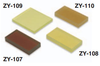 Mẫu chuẩn đo độ cứng cao su loại D ZY 109 Teclock