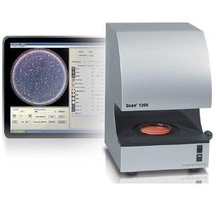 Máy đếm khuẩn lạc màu tự động Scan1200 INTERSCIENCE