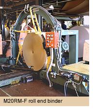 Máy đóng đai thép tự động M20RM-F SIGNODE