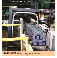 Máy đóng đai thép tự động M400-BS SIGNODE